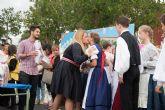 Alumnos italianos y h�ngaros conocen Mazarr�n gracias un programa de Erasmus en el que participa el CEIP la Aceña