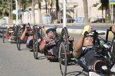 Los mejores del ciclismo adaptado compiten en Mazarrón