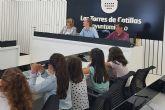 Alumnos de 3° de Primaria del colegio 'Cervantes' visitan el Ayuntamiento