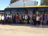 La ampliación de servicios de la Línea 51 Molina de Segura  Los Valientes mejora la comunicación de las pedanías del municipio