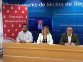 El Ayuntamiento de Molina de Segura y Cruz Roja firman un convenio de colaboración para ayudas de urgente necesidad y Socorros y Emergencias