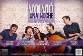 Beatriz Carvajal y Carlos Santos protagonizan VOLVIÓ UNA NOCHE el sábado 26 de octubre en el Teatro Villa de Molina