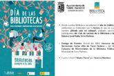 'Bibliotecas, siempre a tu lado', Torre Pacheco celebra el Día de la Biblioteca