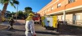 Actuaciones de desinfección en Villanueva del Río Segura