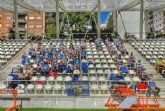 Los/as jóvenes atletas del UCAM Atletismo Cartagena sub16 compiten a gran nivel en el Nacional de Clubes en Vallehermoso