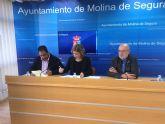 El Ayuntamiento de Molina de Segura firma un convenio de colaboración con la Federación de Asociaciones de Vecinos Interbarrios