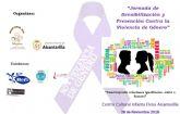 El próximo sábado se celebrará la Jornada de Igualdad y Prevención de la Violencia de Género, 'Construyendo relaciones igualitarias ...... éxito o fracaso'