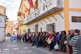 La Alcaldesa ha leído ante más de 200 personas en la plaza de España el Manifiesto Institucional contra la Violencia de Género