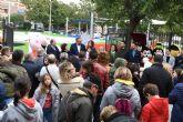 Inauguración del parque infantil 'Europa' en Archena