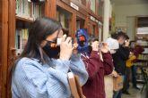 Reparto en institutos de gafas de visión 360 y 3D para divulgar y concienciar con la app de la UPCT