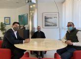 El Ayuntamiento de San Javier renueva su colaboración con  Cáritas San Javier y el  Museo Parroquial de San Javier