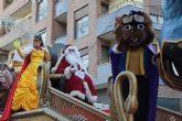 La cabalgata de la ilusión recorre las calles de Puerto Lumbreras