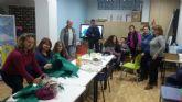 D´Genes y AELIP dan la bienvenida a la Navidad con un taller navideño en el Centro Multidisciplinar 'Celia Carrión Pérez de Tudela'