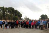 Más de medio centenar de personas participan en la subida a la sima del Cabezo de la Jara