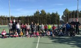 Torneo de minitenis y Fiesta de Navidad Escuela C.T.Totana
