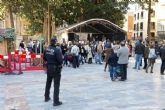 El Ayuntamiento dispone en la Tardebuena de más seguridad, servicios y limitación de ruidos