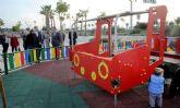 El nuevo Parque El Tiro cuenta con espacios multiusos preparados para que disfruten mayores, niños, senderistas y sus mascotas