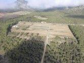 Agricultura finaliza las mejoras de los sistemas forestales del monte público ´El Bebedor´ en Moratalla
