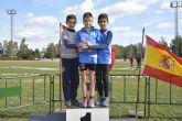 Buena actuaci�n del Club Atletismo Alhama en el Cross de Lorca