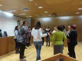 Asociaciones de mujeres de Totana y Lorca se reúnen en el Ayuntamiento para unificar criterios y coordinar actuaciones conjuntas en materia de igualdad
