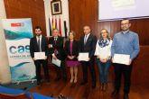La Universidad de Murcia entrega los premios de la Cátedra del Agua y la Sostenibilidad a los mejores trabajos fin de máster
