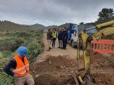 La Comunidad dota de red de agua potable a las poblaciones de Las Cobaticas y Las Jordanas, en Cartagena
