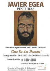 La exposición 'Pinturas' de Javier Egea se podrá visitar hasta el 21 de febrero en la Casa de los Duendes