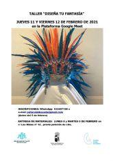 La concejalía de Bienestar Social y la asociación Mikaseda organizan el taller 'Diseña tu fantasía'