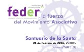 El valor de asociarse llega mañana a Murcia con la presentación de FEDER, la fuerza del movimiento asociativo