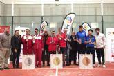 Dos parejas del CD Primi Sport de Cartagena consiguen medalla en el VI Campeonato de España de Pádel FEDDI