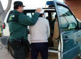 La Guardia Civil detiene a un vecino de la pedanía murciana de Sangonera la Verde por una quincena de incendios en un colegio