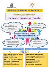 ESCUELA DE PADRES. PARENTALIDAD POSITIVA 'Educando con cabeza y corazón'