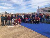 La Comunidad invierte 200.000 euros en el campo de fútbol de Santiago de la Ribera