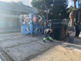 El Ayuntamiento incorpora a 10 trabajadores para arreglos de los desperfectos causados por los temporales en El Mojón y Villananitos
