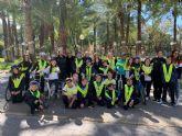 Alumnos del colegio San José de La Alberca aprenden a circular en el Parque Infantil de Tráfico