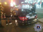La Policía Local de Molina de Segura detiene a dos personas por falsedad documental
