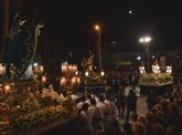 San Pedro del Pinatar vive el Encuentro de Jesús con su madre en la Calle de la Amargura