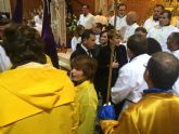 La consejera de Cultura participa en la salida de la procesión del Jueves Santo en Cabo de Palos