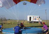 La Base Aérea de Alcantarilla acoge desde este próximo lunes el 50 Campeonato Nacional Militar de Paracaidismo y Torneo Internacional