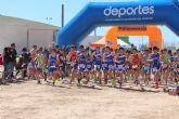 Más de 400 escolares participan en la final  regional de deporte escolar en modalidad de duatlón