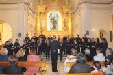 La Coral Patnia ofreció el tradicional recital 'Voces de Pasión' en la iglesia de San Pedro