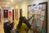 Expuestos los trabajos del concurso de dibujo de la campaña de educación vial