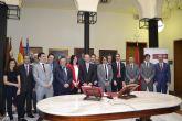 Docentes de la Universidad de Murcia toman posesión de sus cátedras y plazas de profesor titular.