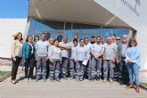 15 desempleados de San Pedro del Pinatar culminan el Programa de Empleo y formación en albañilería