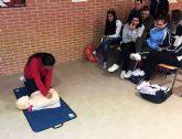 El IES La Florida aprende primeros auxilios de mano de Protección Civil
