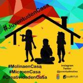La Concejalía de Juventud se suma a la iniciativa municipal #MolinaenCasa y #JuventudenCasa con la incorporación de nuevas propuestas artísticas y culturales