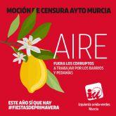 IU-Verdes Murcia celebra el fin de más de 26 anos de gobiernos del Partido Popular