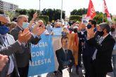 Luengo: 'Hoy Ciudadanos ha dicho sí al comunismo de Podemos y no a la libertad y estabilidad que representa el Gobierno de Ballesta'