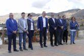 El alcalde recibe al secretario general del PSEM en Portman