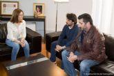 La vicealcaldesa muestra su apoyo a los trabajadores de la empresa Spril